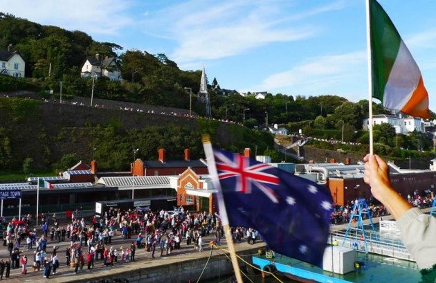 Australia Day celebrations in Cobh in 2009
