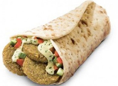 McFalafel: Israeli consumers were, apparently, not lovin' it.