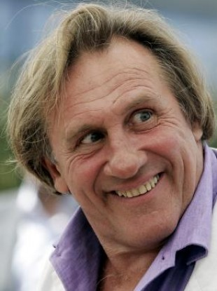 Gérard Depardieu - not a high-scorer on our list of possible plane buddies