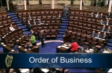 Opposition TDs walk out of Dáil over lack of discussion on Anglo bondholders