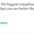 One of the less offensive remarks made to Darron Gibson during the brief time in which his Twitter account existed.