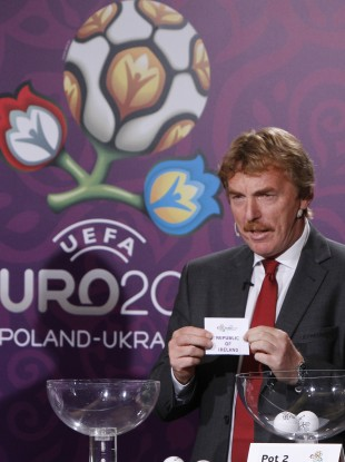 The Euro 2012 draw takes place at 5.30pm today.