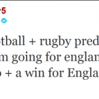 There's a moral to this tweet: don't ever take betting advice from Rio Ferdinand.