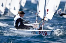 On course: Annalise Murphy qualifies for London 2012