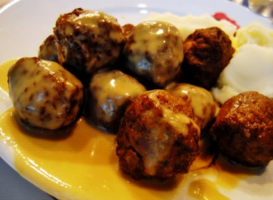 The disputed meatballs