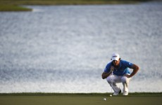 In the swing: for Rory, this one's been coming