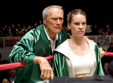Clint Eastwood takes former Melrose Place sweetheart Hilary Swank and trains her up in Million Dollar Baby