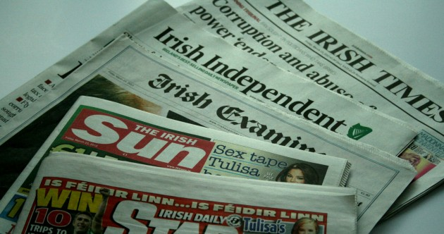Gallery: Mahon Tribunal hits the front pages