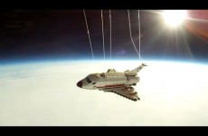 Teenager sends Lego shuttle into space