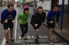 Charity runners cross the finish line 40 hours after setting off on 126-mile challenge