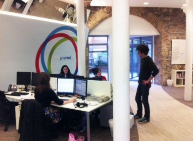 A sneak-peek at TheJournal.ie HQ.
