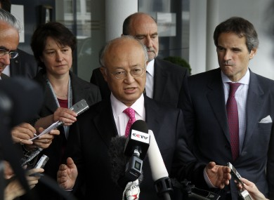 Director General of the International Atomic Energy Agency, IAEA, Yukiya Amano