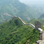 Badaling, the most popular section of the wall for tourists, is visited by millions of people annually.