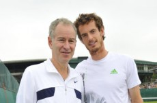 John McEnroe: Andy Murray needs to stop being so angry and negative