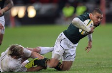 Springboks maintain Test dominance over England