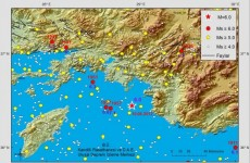 Strong earthquake shakes Turkey, Greece