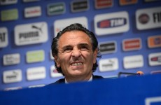 Prandelli on the road to nowhere as he admits Italy have 'no objective'