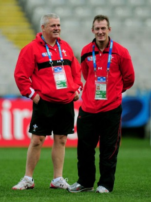 Wales chiefs, Gatland and Howley.