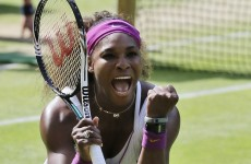 Aces high as Serena reaches seventh Wimbledon final
