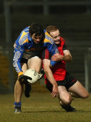Down's Benny Coulter and Tipperary's Ciaran McDonald will face off tomorrow.
