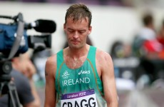 Cragg comes up short in 5,000m