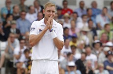 England cricket star denies Twitter spoof involvement