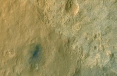 New satellite photo shows Mars rover exploring the Red Planet