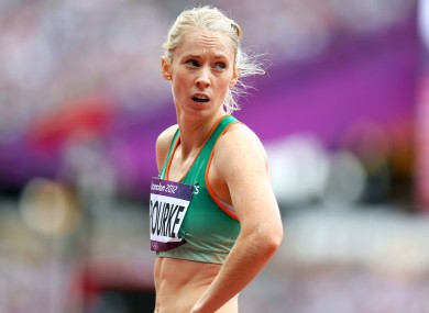 Derval O'Rourke: biggest race is the next one.