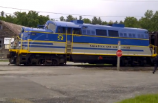WATCH: You'll want to see this video of an excited trainspotter