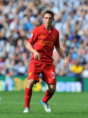 Liverpool midfielder Joe Allen.