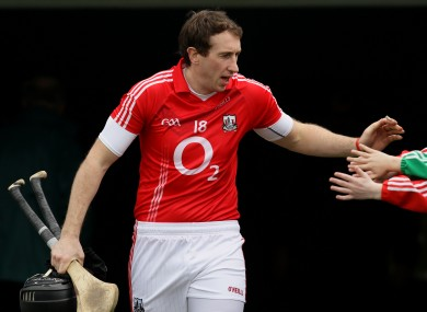 Tough season: Cork's John Gardiner.