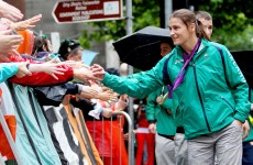 'I'm off to Ibiza'… Katie Taylor the star attraction as 5,000 turn out for Olympic homecoming