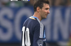 VIDEO: Leo Messi handshake sends pitch invader away happy