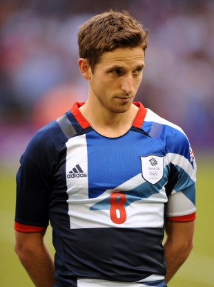 Great Britain's Joe Allen.