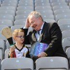 Elijah Spratt with Minister for Communications Pat Rabbitte. Image:Jason Clarke Photography