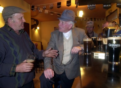 You can be sure these lads in O'Shea's of Killorglin, Co Kerry knew their round system
