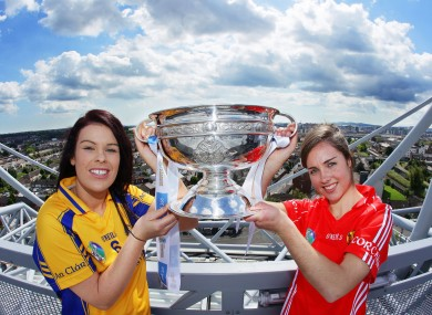 Susan Vaughan (Clare) and Julia White (Cork).