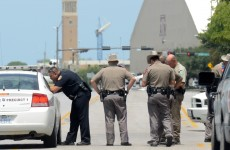 Gunman arrested after Texas shootings dies