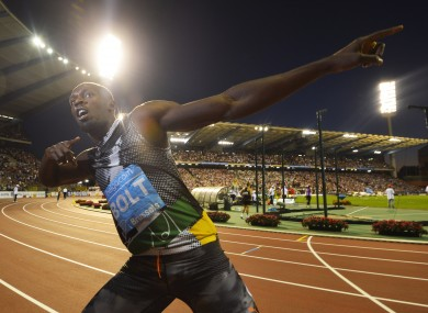 Usain Bolt was destined to be a sprinter, or a meteorologist.