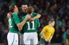 VIDEO: It's been a year since Ireland beat Australia