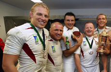 Lewis Moody: I kept my World Cup winners' medal in a Sainsburys bag