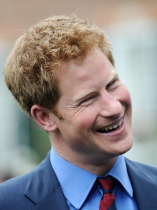 Prince Harry: keeping it real