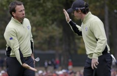 Tied up: USA and Europe level at 2-2 after Ryder Cup foursomes