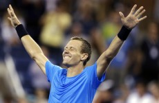Berdych stuns Federer to set-up Murray showdown