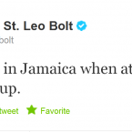 Usain Bolt re-familiarises himself with his home country.