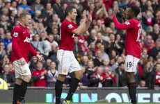 Van Persie: More to come from Rooney partnership