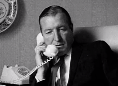 Charles Haughey in the late 1960s