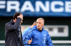 Old rivalry: Deschamps excited by Spain test
