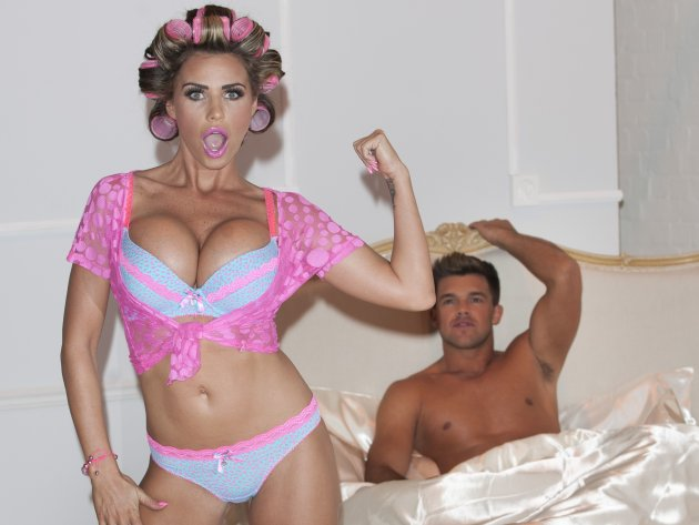Katie Price Lingerie Launch - London