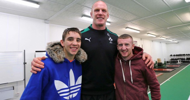 In pictures: Ireland's rugby stars go a few rounds with our high-performance boxers